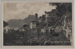 Lago Di Lugano - Gandria - Photo: Ditta G. Mayr No. 244 - TI Tessin