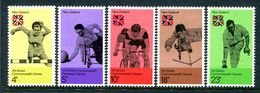 New Zealand 1974 Tenth British Commonwealth Games Set MNH (SG 1041-45) - Nuovi