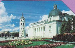 Télécarte Lituanie °° Urmet 8 - Vilnius-Arkikatedros Aikste-50 - Lituanie