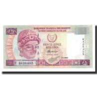 Chypre, 5 Pounds, 2003-09-01, KM:61b, NEUF - Chypre