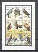 Comores 1998,9V In Block,birds Of Prey,roofvogels,greifvögel,oiseaux,pajaros,uccelli,aves,MNH/Postfris(L3158) - Aigles & Rapaces Diurnes