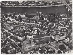 Basel - Partie Am Münster Und Barfüsserplatz -  (Fliegeraufnahme)  - 1956 - (Schweiz/Suisse) - BS Basle-Town