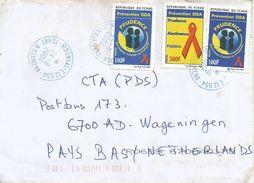Tchad 2004 Moursal N'Djamena AIDS HIV Prevention Cover - Tsjaad (1960-...)