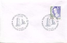 24802 Italia, Special Postmark 2004 Villa Sant'antonio, La Valle Dei Menhir, Menhir Valley   Archeology,  Prehistory - Préhistoire