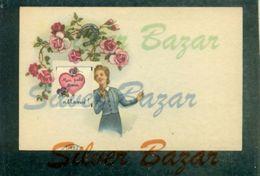CARTOLINA PASSEPARTOUT-PASSEPARTOUT CARD-DONNINE - Cartoline