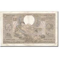 Belgique, 100 Francs-20 Belgas, 1933-1935, KM:107, 1938-05-30, TTB - [ 2] 1831-... : Regno Del Belgio