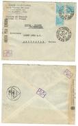 Brésil // Lettre Censurée Pour La Suisse - Lettres & Documents