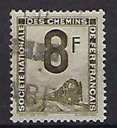"Petits Colis YT 8 "" 8F. Vert-olive "" 1944-47 Oblitéré - Used"