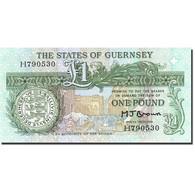 Guernsey, 1 Pound, 1980, Undated (1980-1989), KM:48b, SPL - Guernsey