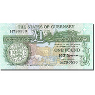 Guernsey, 1 Pound, 1980, Undated (1980-1989), KM:48b, SPL - Guernesey