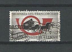 1960 N° 825  DILIGENCE POSTALE  OBLITERE DOS CHARNIERE - 6. 1946-.. Republik