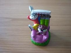 Bugs Bunny Tasmanian Devil Taz Warner Bros Figure Figurine Toy - Figurines