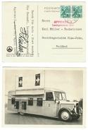 """Suisse // Schweiz // Switzerland // Bureau De Poste Automobile """"Appenzell Landsgemeinde 1937""""  A9 - Marcophilie"""