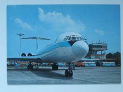IL 62 / Warsaw  Okecie / Airport / Airport Car / Bus /  Poland 1979 Year - Aérodromes
