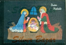 CARTOLINE FUSTELLATE-FROZEN CARDS-CARTES CONGELÉES-AUGURALI-BUON ANTALE-PRESEPIO ASPORTABILE - Cartoline