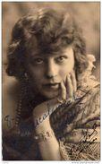 ARTISTE  Prénom Andrée  Autographe Le 08.02.1930 - Cartoline