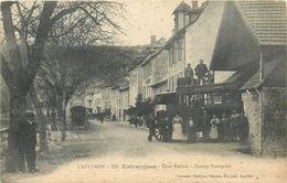 12 ENTRAYGUES  Garage Foulquier  Autobus  2 Scans - France