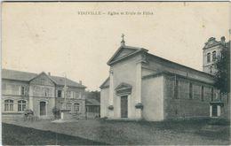 Seine Maritime : Viriville, Eglise Et Ecole De Filles - France