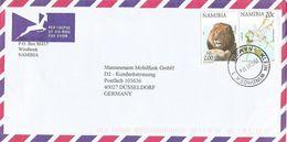 Namibia 2000 Klein Windhoek Lion Flower Cover - Namibië (1990- ...)