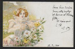 Jack ABEILLE --  La Marguerite - Autres Illustrateurs