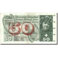 Suisse, 50 Franken, 1957, 1957-10-04, KM:47b, TB - Switzerland