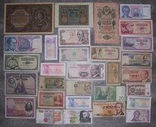 LOT De 30 BILLETS Du MONDE Tous Différents - N°2 - Monnaies & Billets