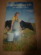 1957 Du Meilleur Lait Et Moins Cher (important Document )  Photographies De Roger Schall - Autres Collections
