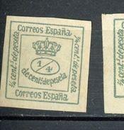 ESPAGNE - COURONNE N° Yvert 140b (*) - Unused Stamps