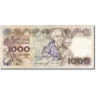 Portugal, 1000 Escudos, 1980-1989, 1989-11-09, KM:181f, TTB - Portugal