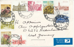 South Africa RSA Cover Sent Air Mail To Germany 22-12-1982 - Covers & Documents