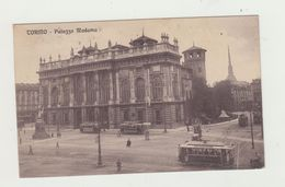 """TORINO - PALAZZO MADAMA - VIAGGIATA 1923 E ANNULLO: """"PREGATE I VOSTRI CORRISPONDENTI..."""" - POSTCARD - Palazzo Madama"""