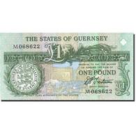 Guernsey, 1 Pound, 1990-1991, Undated (1991), KM:52b, NEUF - Guernsey