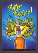 Publicité FISCHER Grande Biere De La Réunion Birra Cerveza Piwo Pilsen Carte Postale - La Réunion