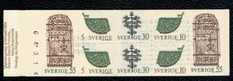 Svezia Sweden Schweden Suede 1970 Booklet Antichi Oggetti Forgiati 8v Complete Set   ** MNH - Svezia