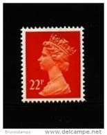 GREAT BRITAIN - 1990  MACHIN  22p.  PCP  MINT NH  SG  X964 - Machins
