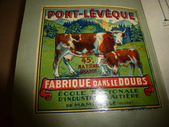 1957 Produire Du Bon Lait (Brochure Humorist. Féd. Des Producteurs De Lait) Avec 2 Dessus PONT-LEVEQUE Et  MAMIROLLAIS - Formaggio