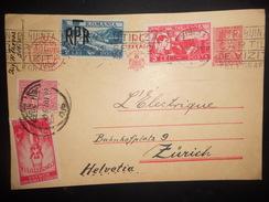 Roumanie , Carte De 1948 Pour Zurich - Covers & Documents