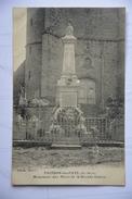POINSON-les-FAYL-monument Aux Morts De La Grande Guerre(etat Moyen) - Sonstige Gemeinden