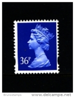 GREAT BRITAIN - 1993  MACHIN  36p.  2B  MINT NH  SG Y1702 - Machins