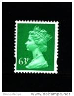 GREAT BRITAIN - 1996  MACHIN  63p. 2B  MINT NH  SG Y1732 - Machins