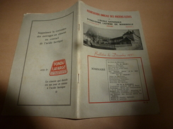 Bulletin 1957  Association Amicale Des Anciens Elèves De L'Ecole Nationale D'Industrie Laitière De MAMIROLLE - Organizations