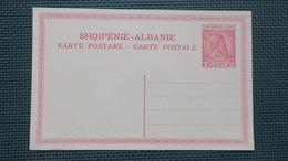 Albanie Entier Postal Neuf , Albania Postal Stationary Unused - Albanie