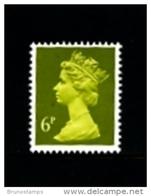 GREAT BRITAIN - 1991  MACHIN  6p.  ACP  MINT NH  SG X936 - 1952-.... (Elisabeth II.)