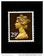 GREAT BRITAIN - 1982  MACHIN  29p.  PCP  MINT NH  SG X978 - Machins