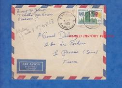 Enveloppe Ancienne Avec Timbre - Cachet De GAROUA , Cameroun - 1963 - Kamerun (1960-...)