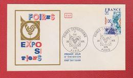 Premier Jour  / Foires Expositions  / Paris / 20 Novembre 1976 - 1970-1979
