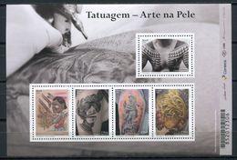 Brazil 2016 Brasil / Tattoo Art On Skin MNH Tatuajes / Cu4912  40 - Ongebruikt