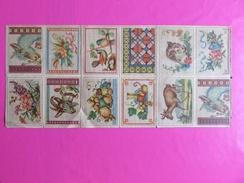 098 - Anciens Modèles De Grilles Papier Pour Broderie - Points De Croix - Cross Stitch