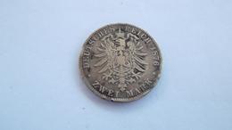 Deuches Reich Zwei Mark 1876 - Autres