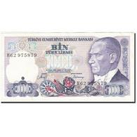 Turquie, 1000 Lira, 1984-1997, KM:196, 1986, SUP - Turquie